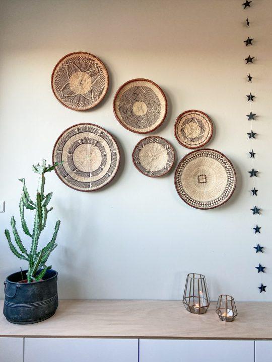 binga mand wanddecoratie