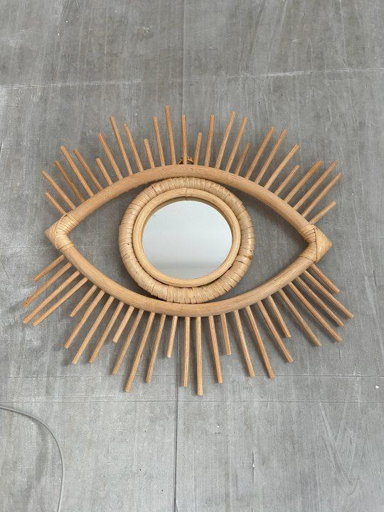 rotan spiegel oog