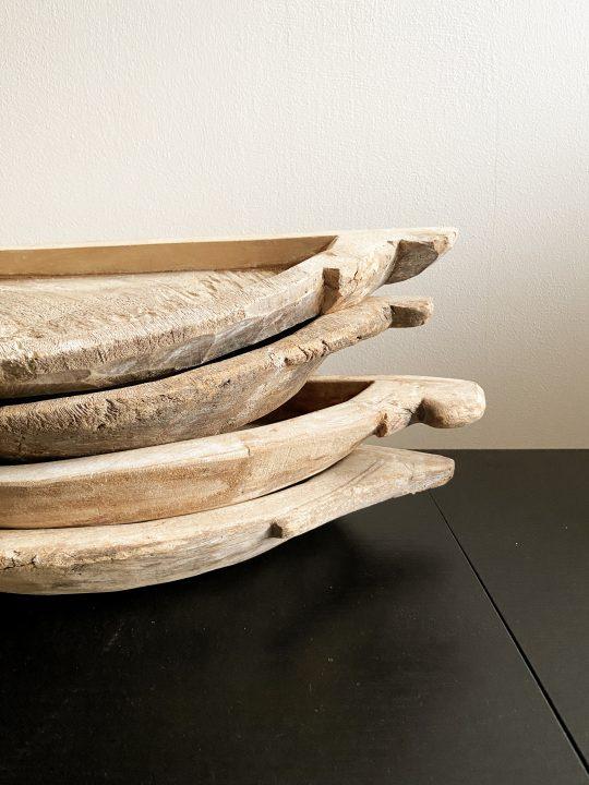 houten wandplankjes uit india