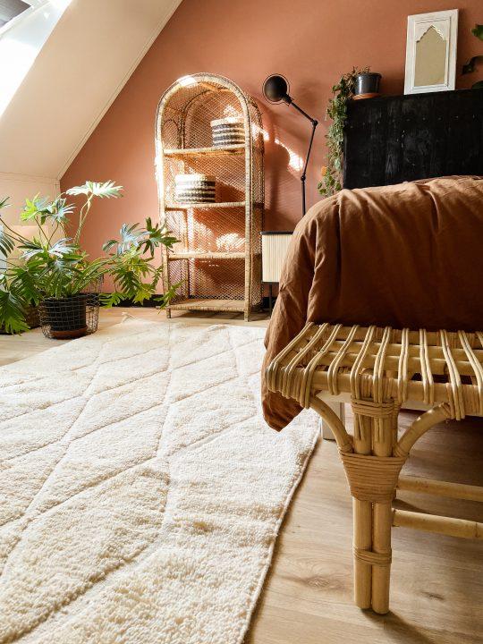 tapijt uit marokko creme